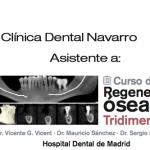 Clínica Dental Navarro asiste a curso de regeneración ósea tridimensional