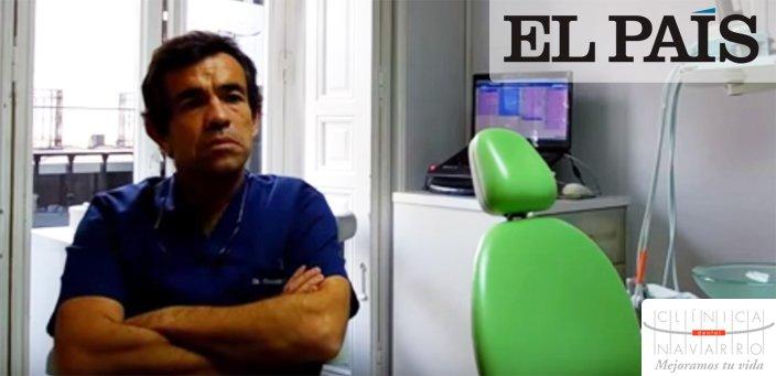 Doctor Gonzalo Navarro en El Pais