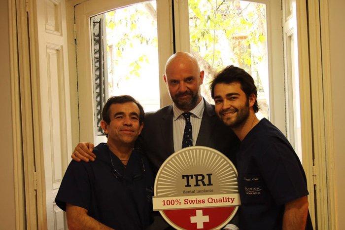 clínica especialista en implantes dentales TRI en Madrid