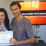La Dra Andreea Cosic en Los Ángeles para continuar los cursos de formación de implantología y periodoncia avanzada