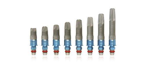 implantes dentales en Madrid diferentes medidas