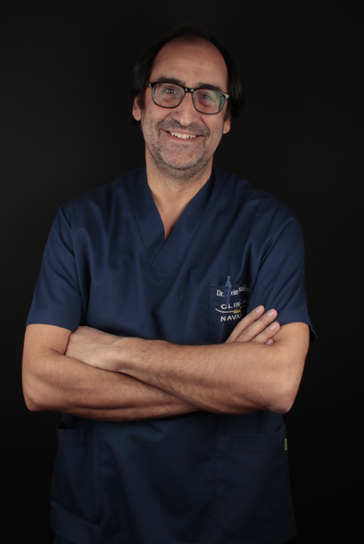 Javier dentista en Clínica Dental Navarro Madrid