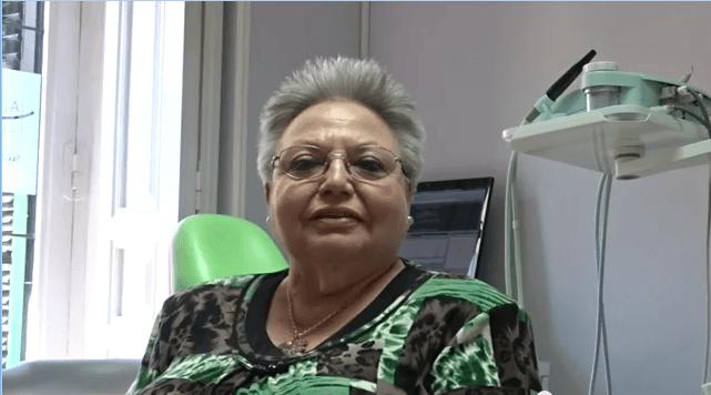 Julia, paciente de la clinica dental navarro Madrid