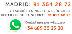 contacta por Whatsapp con Dental Navarro Madrid
