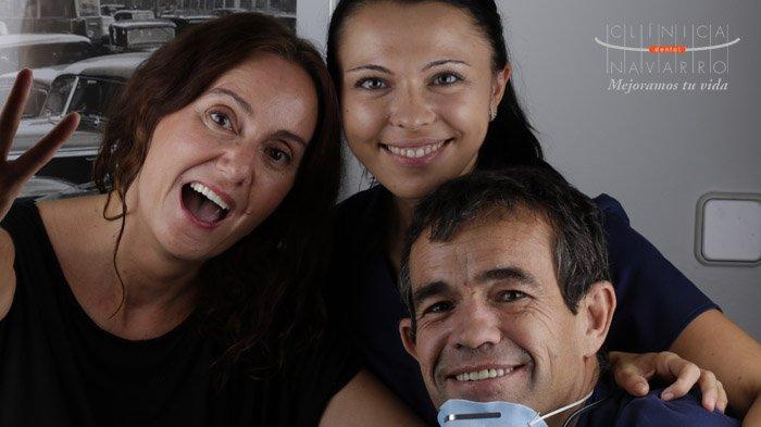 opinión de Alicia sobre su tratamiento de coronas dentales en Clínica Dental Navarro Madrid