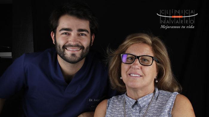 opinion de Paula sobre el tratamiento DSD de la Clínica Dental Navarro Madrid